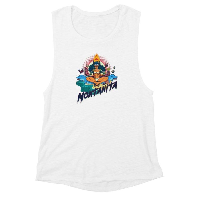 Montañita Women's Muscle Tank by creativosindueno's Artist Shop