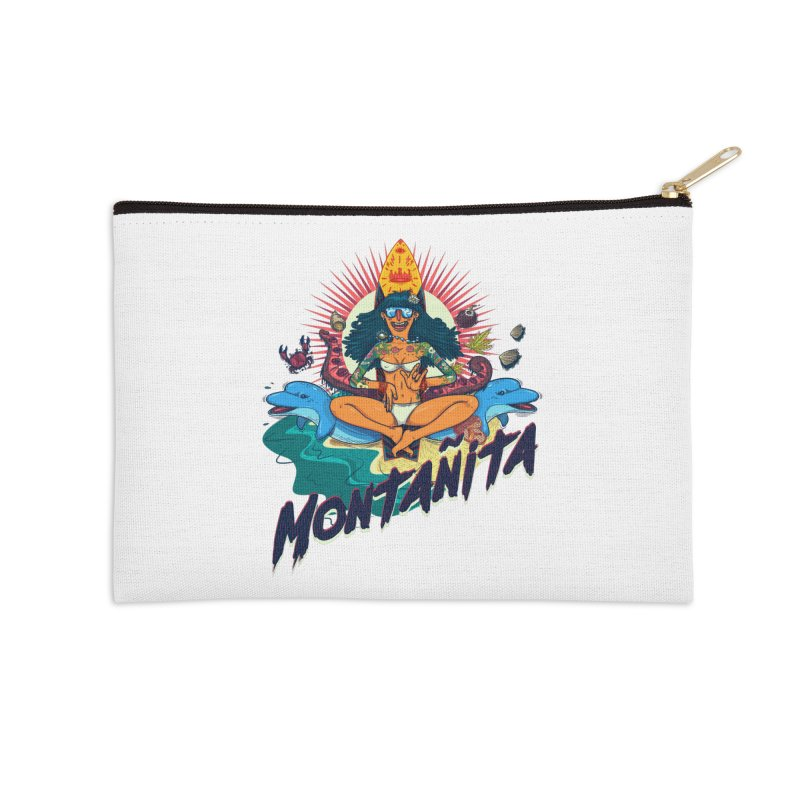 Montañita Accessories Zip Pouch by creativosindueno's Artist Shop