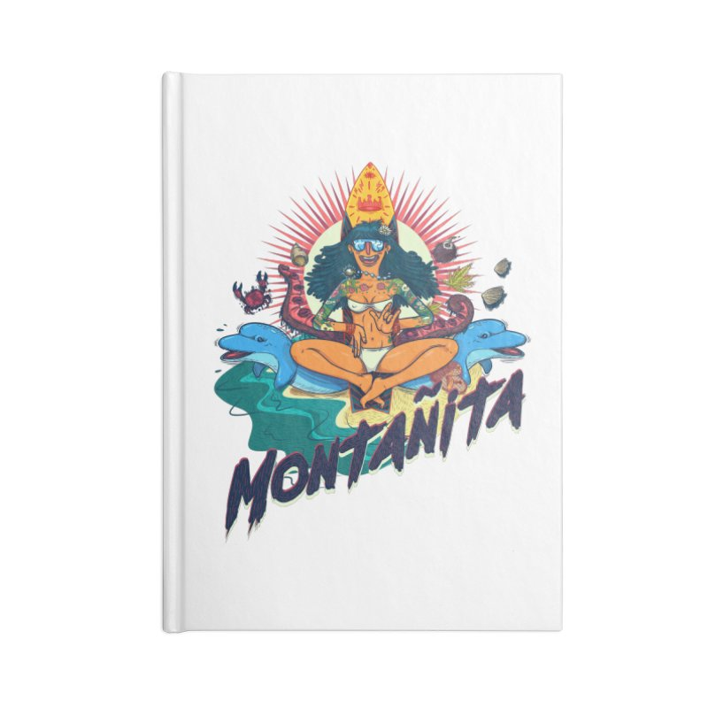 Montañita Accessories Lined Journal Notebook by creativosindueno's Artist Shop