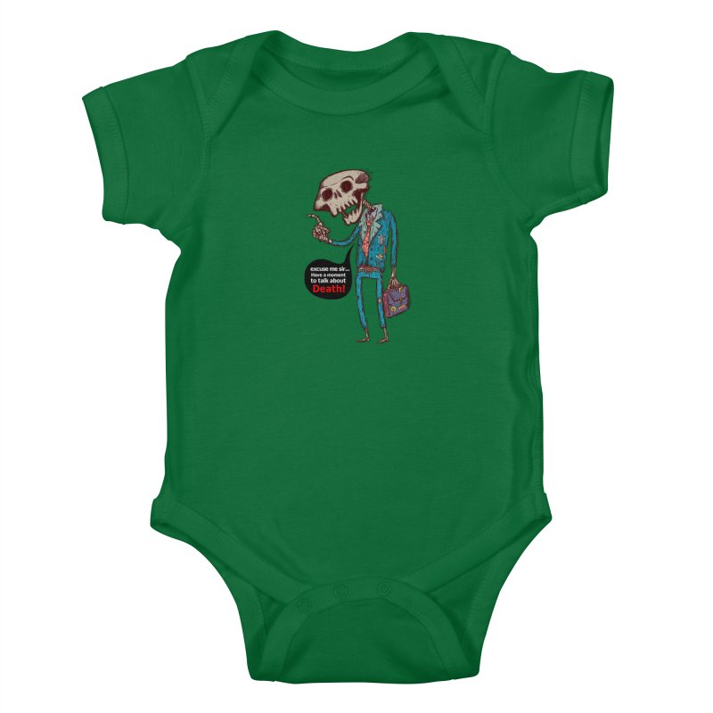 Death Religion Kids Baby Bodysuit by creativosindueno's Artist Shop