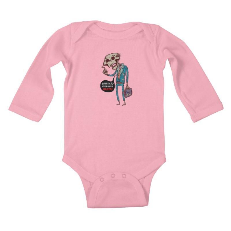 Death Religion Kids Baby Longsleeve Bodysuit by creativosindueno's Artist Shop