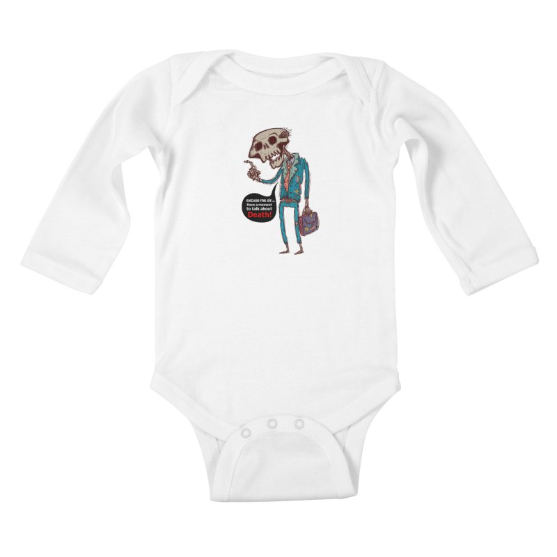 Death Religion Kids Baby Longsleeve Bodysuit by creativosindueno's Artist Shop