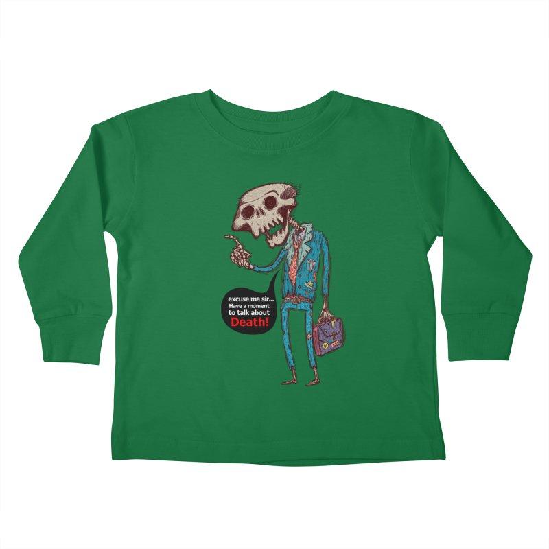 Death Religion Kids Toddler Longsleeve T-Shirt by creativosindueno's Artist Shop