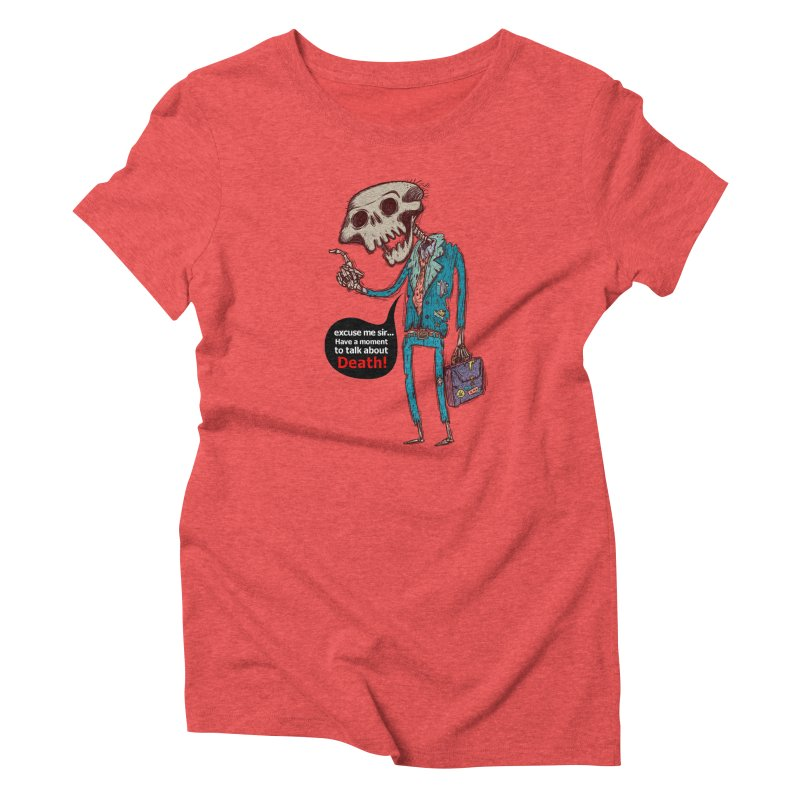 Death Religion Women's Triblend T-shirt by creativosindueno's Artist Shop
