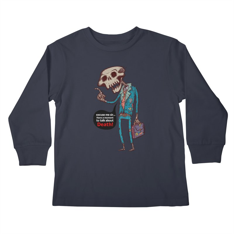 Death Religion Kids Longsleeve T-Shirt by creativosindueno's Artist Shop