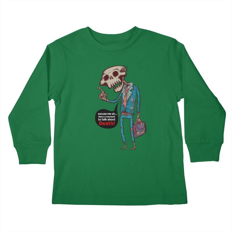 Death Religion Kids Longsleeve T-Shirt by creativosindueno's Artist Shop