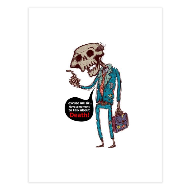 Death Religion Home Fine Art Print by creativosindueno's Artist Shop