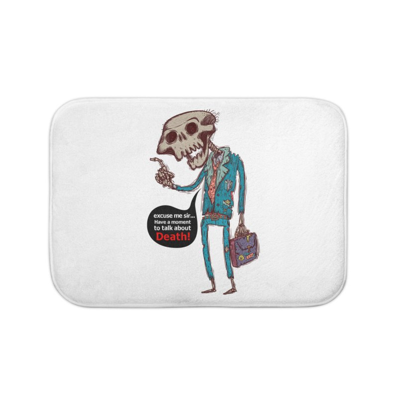 Death Religion Home Bath Mat by creativosindueno's Artist Shop