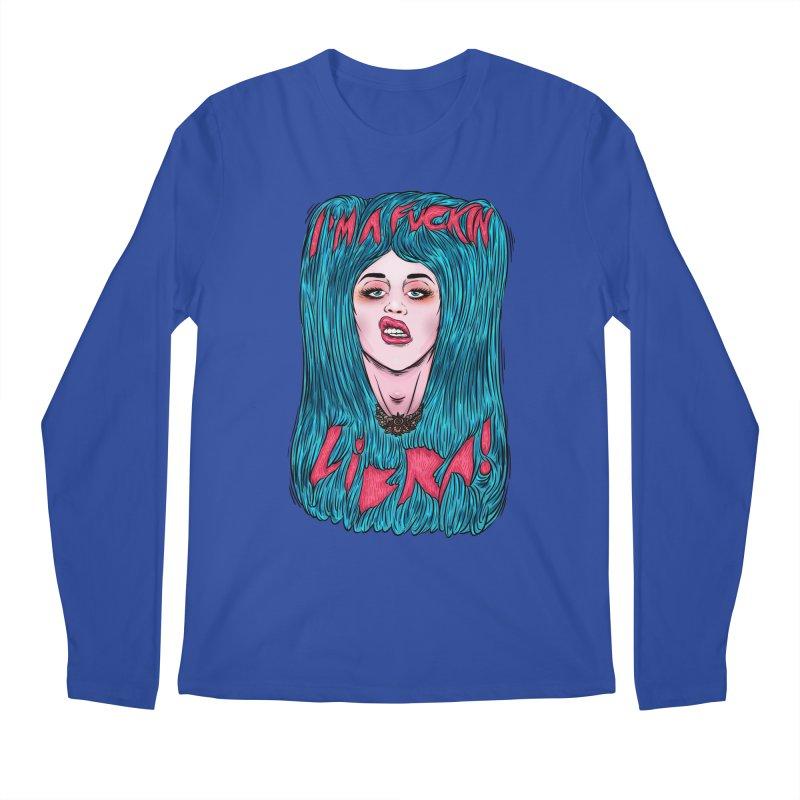 I'm a fuckin libra! Men's Regular Longsleeve T-Shirt by creativosindueno's Artist Shop