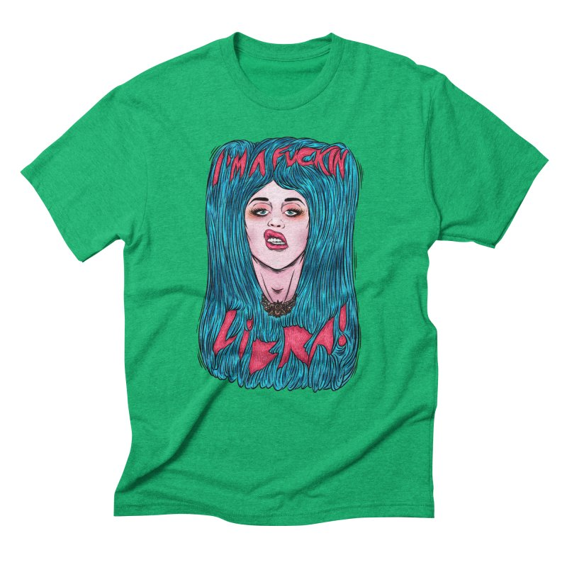 I'm a fuckin libra! Men's Triblend T-Shirt by creativosindueno's Artist Shop