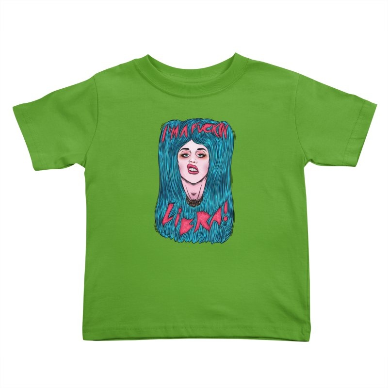 I'm a fuckin libra! Kids Toddler T-Shirt by creativosindueno's Artist Shop
