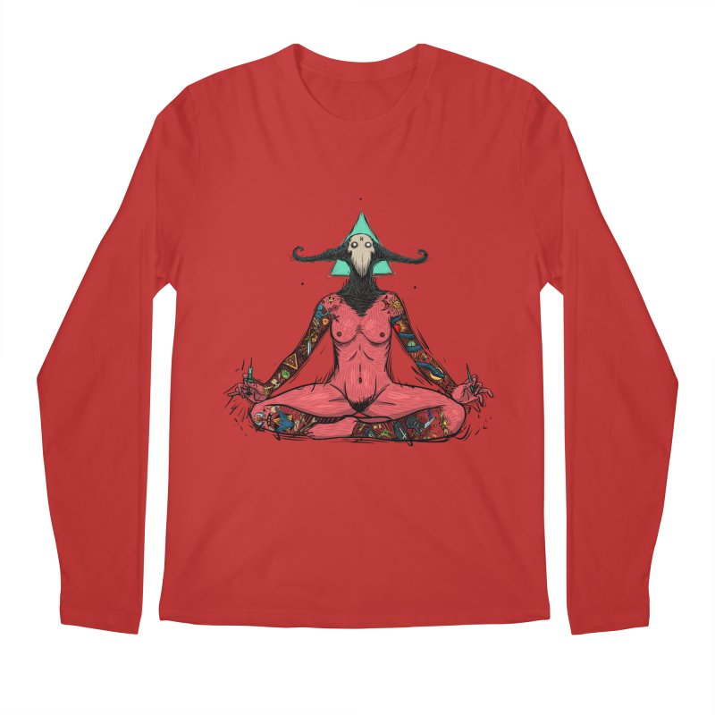 DevilWomen iluminated Men's Regular Longsleeve T-Shirt by creativosindueno's Artist Shop