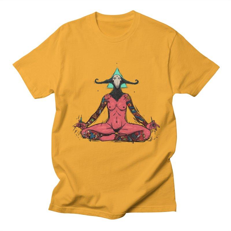 DevilWomen iluminated Men's Regular T-Shirt by creativosindueno's Artist Shop