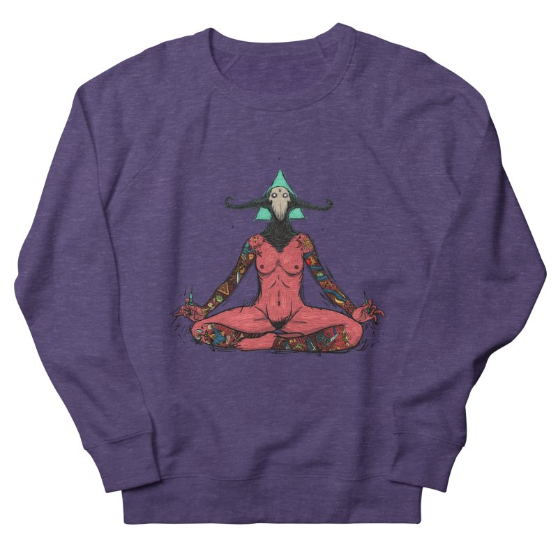 DevilWomen iluminated Women's French Terry Sweatshirt by creativosindueno's Artist Shop