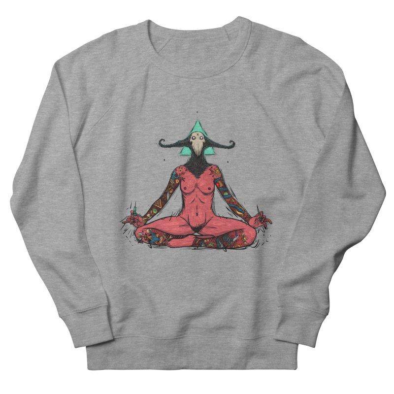 DevilWomen iluminated Women's French Terry Sweatshirt by creativosindueno's Artist Shop