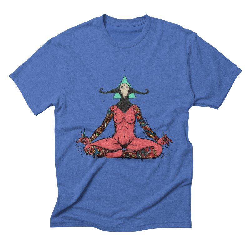 DevilWomen iluminated Men's Triblend T-Shirt by creativosindueno's Artist Shop