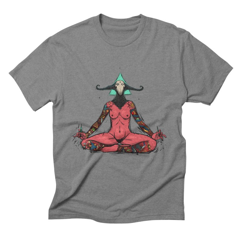 DevilWomen iluminated Men's Triblend T-Shirt by creativosindueno's Artist Shop