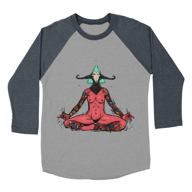 DevilWomen iluminated Women's Baseball Triblend Longsleeve T-Shirt by creativosindueno's Artist Shop
