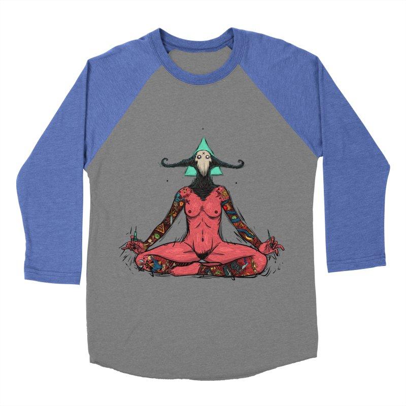 DevilWomen iluminated Men's Baseball Triblend Longsleeve T-Shirt by creativosindueno's Artist Shop