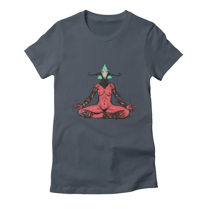 DevilWomen iluminated Women's T-Shirt by creativosindueno's Artist Shop