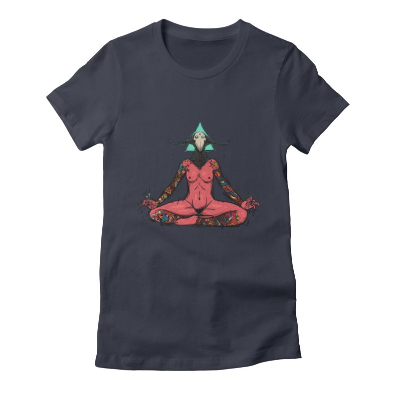 LosDiablos Women's Fitted T-Shirt by creativosindueno's Artist Shop