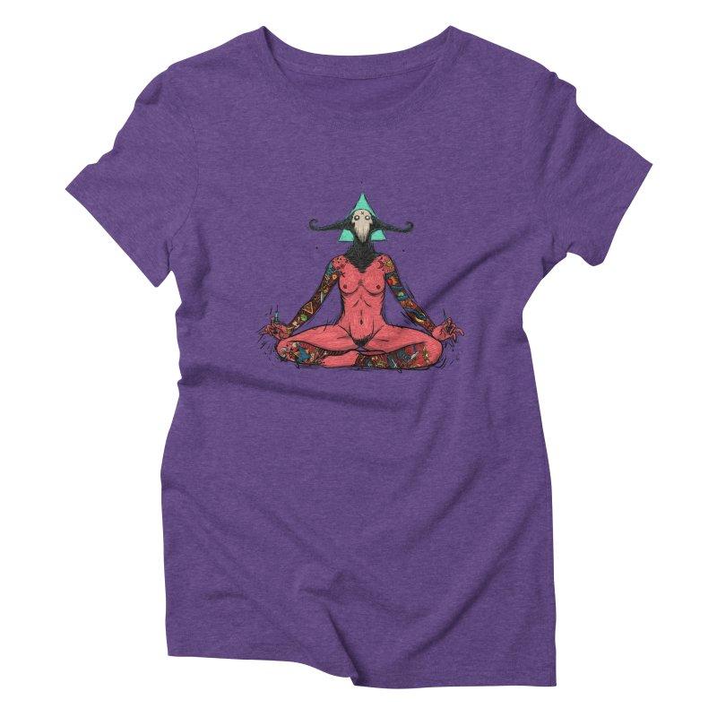 DevilWomen iluminated Women's Triblend T-Shirt by creativosindueno's Artist Shop