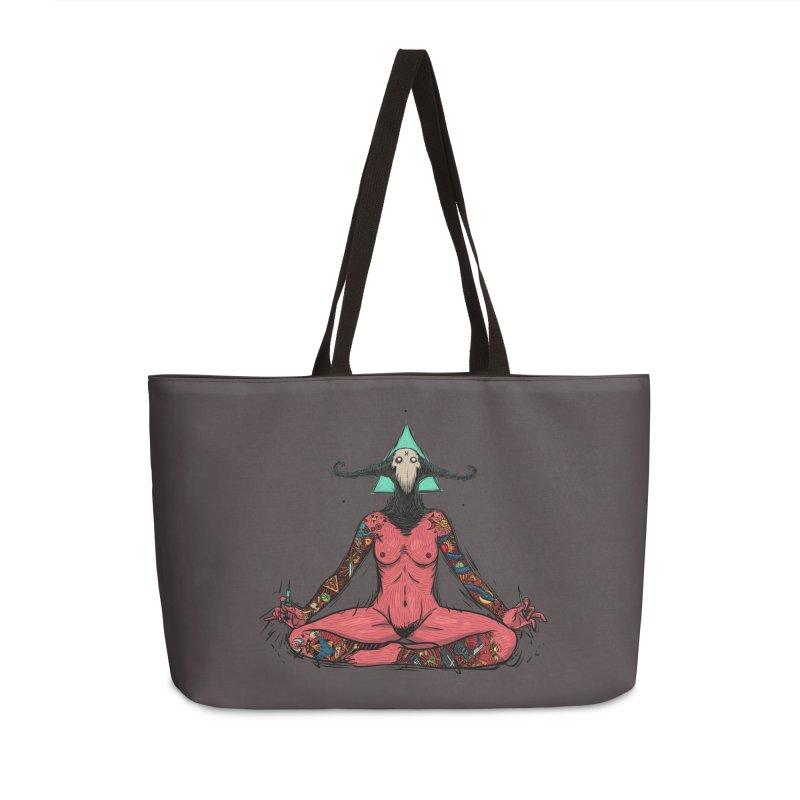 DevilWomen iluminated Accessories Weekender Bag Bag by creativosindueno's Artist Shop
