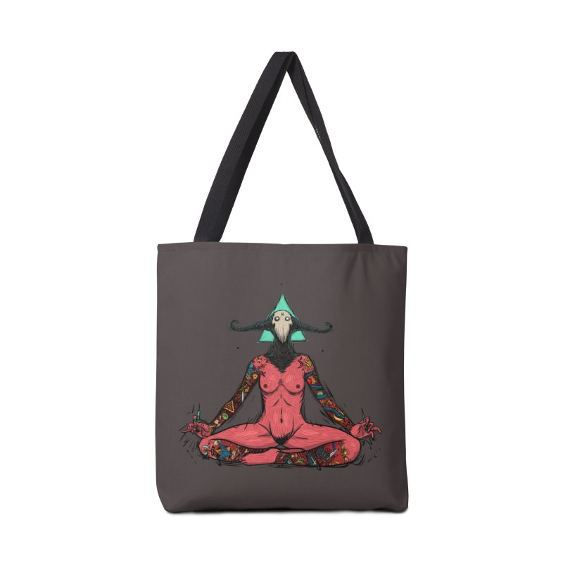 DevilWomen iluminated Accessories Bag by creativosindueno's Artist Shop