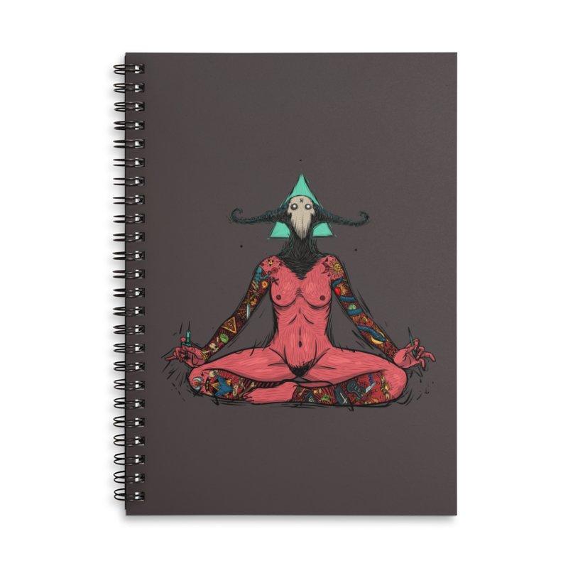 DevilWomen iluminated Accessories Lined Spiral Notebook by creativosindueno's Artist Shop