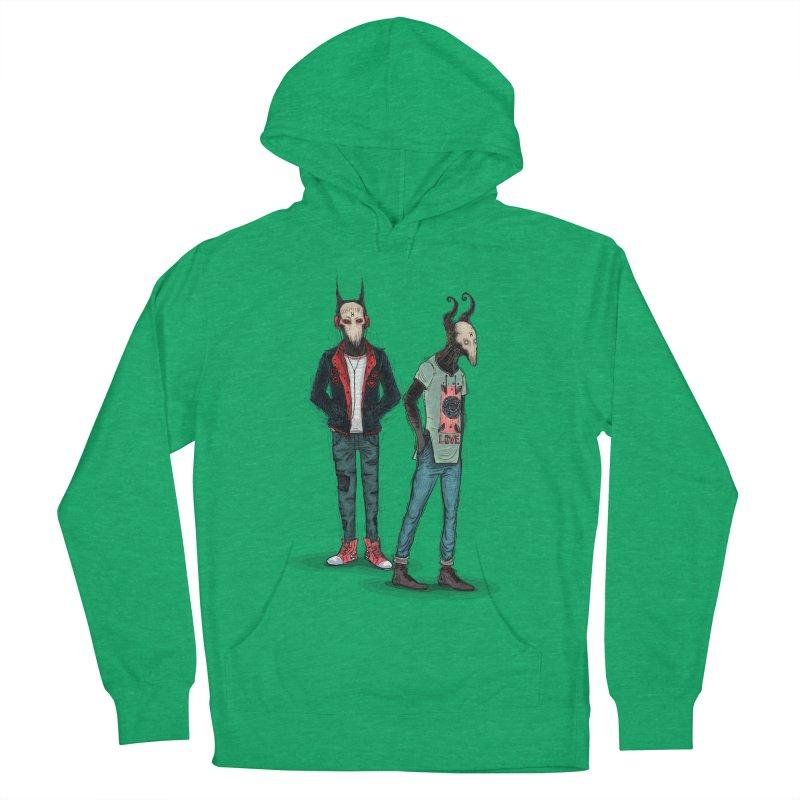 LosDiablos2 Women's Pullover Hoody by creativosindueno's Artist Shop