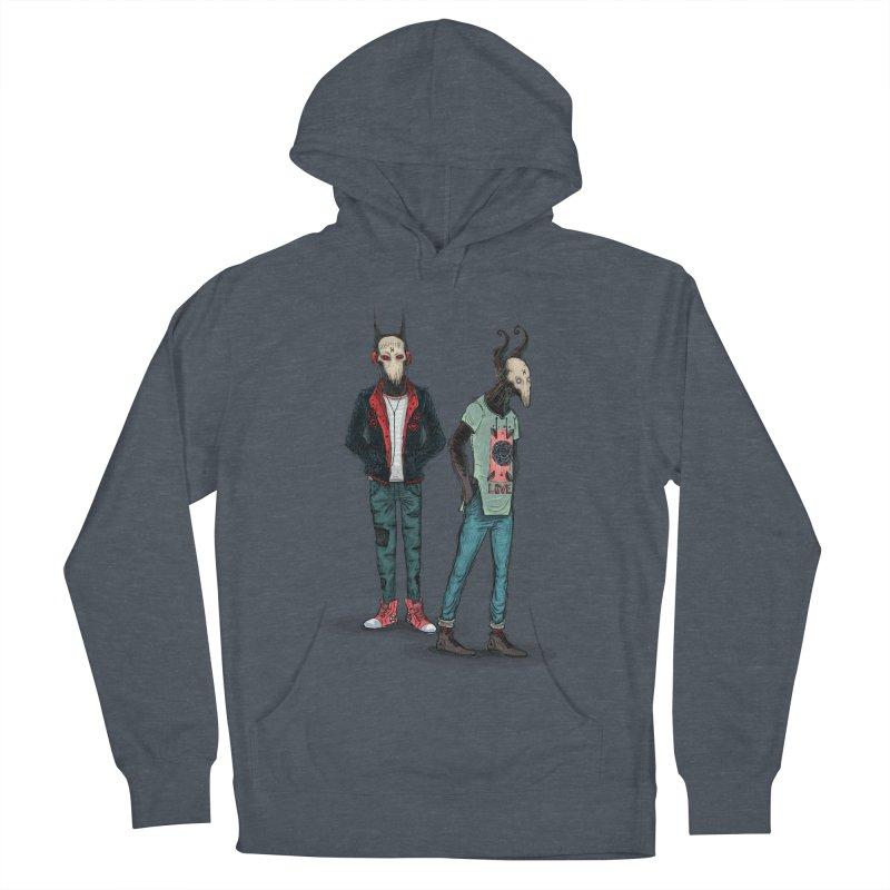 LosDiablos2 Men's Pullover Hoody by creativosindueno's Artist Shop
