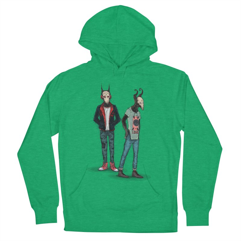Devilfriends Men's French Terry Pullover Hoody by creativosindueno's Artist Shop