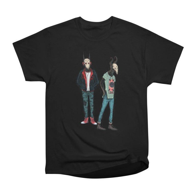 Devilfriends Women's Heavyweight Unisex T-Shirt by creativosindueno's Artist Shop