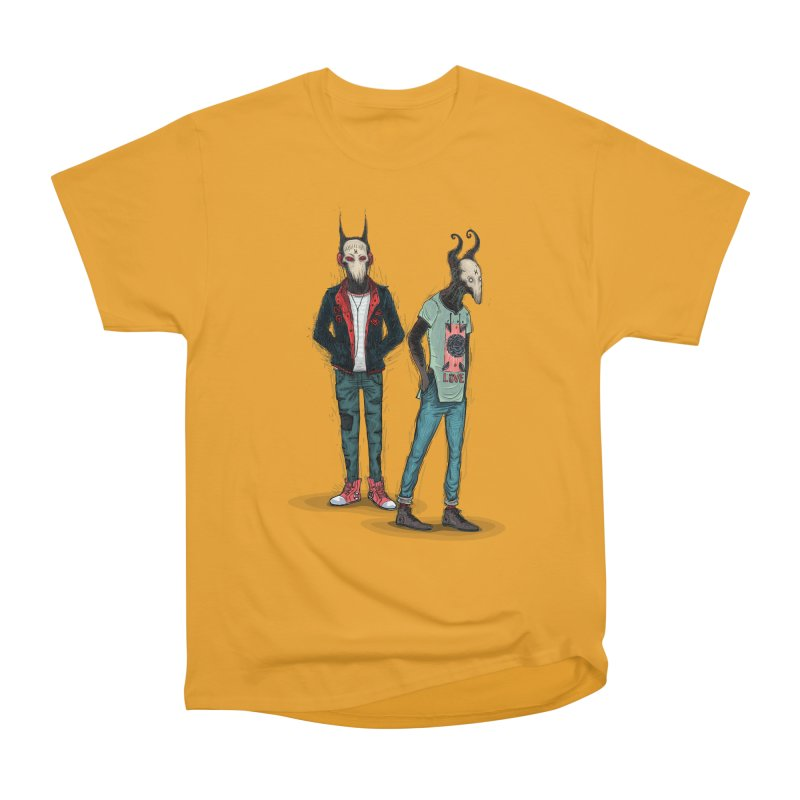 Devilfriends Men's Heavyweight T-Shirt by creativosindueno's Artist Shop