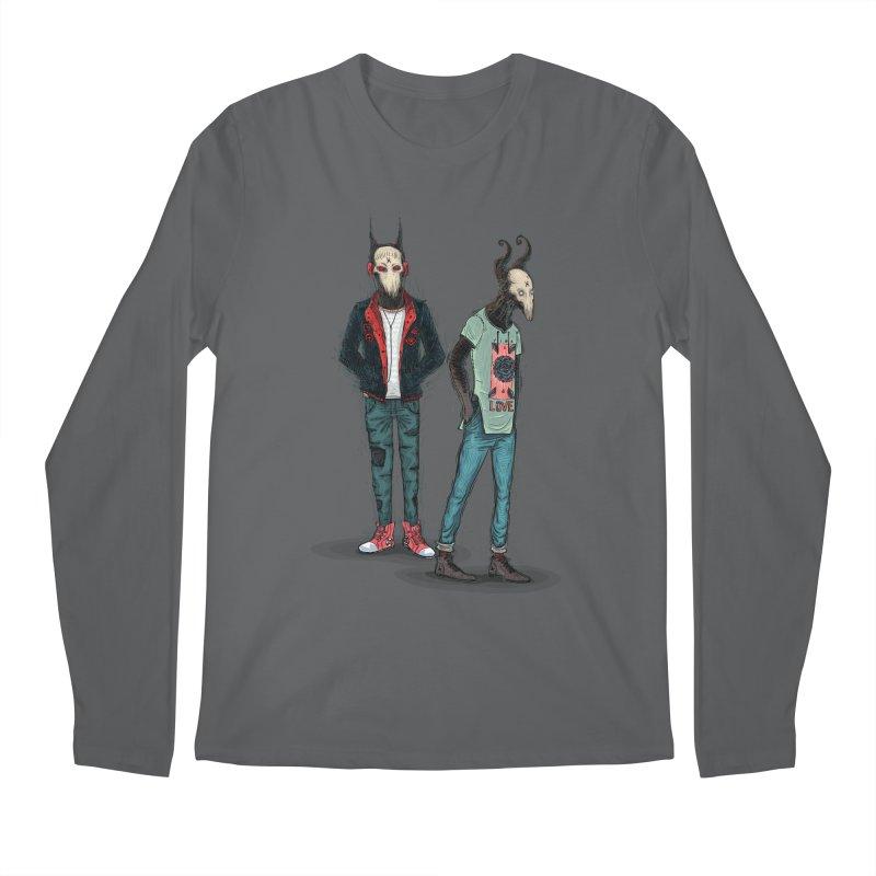 Devilfriends Men's Regular Longsleeve T-Shirt by creativosindueno's Artist Shop