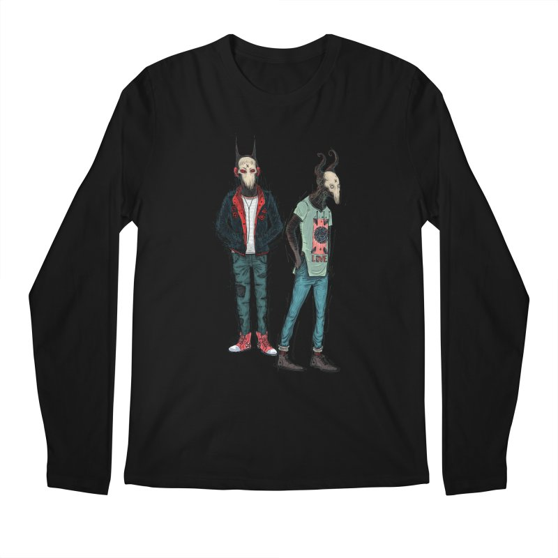 Devilfriends Men's Regular Longsleeve T-Shirt by creativosindueno's Artist Shop
