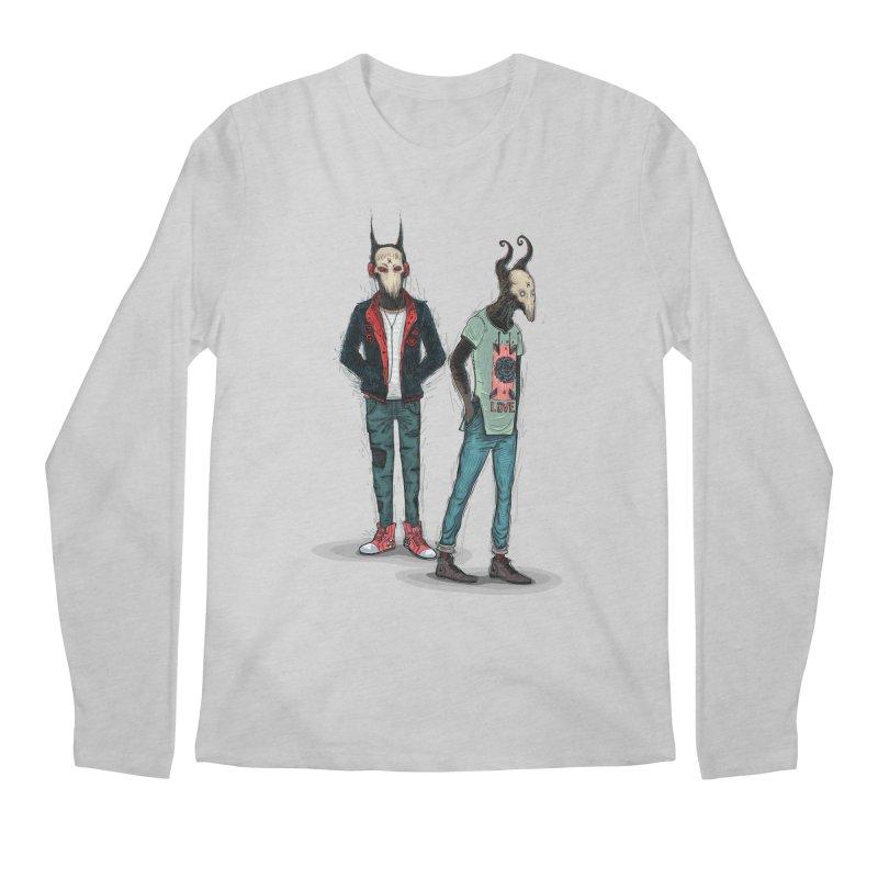 Devilfriends Men's Longsleeve T-Shirt by creativosindueno's Artist Shop