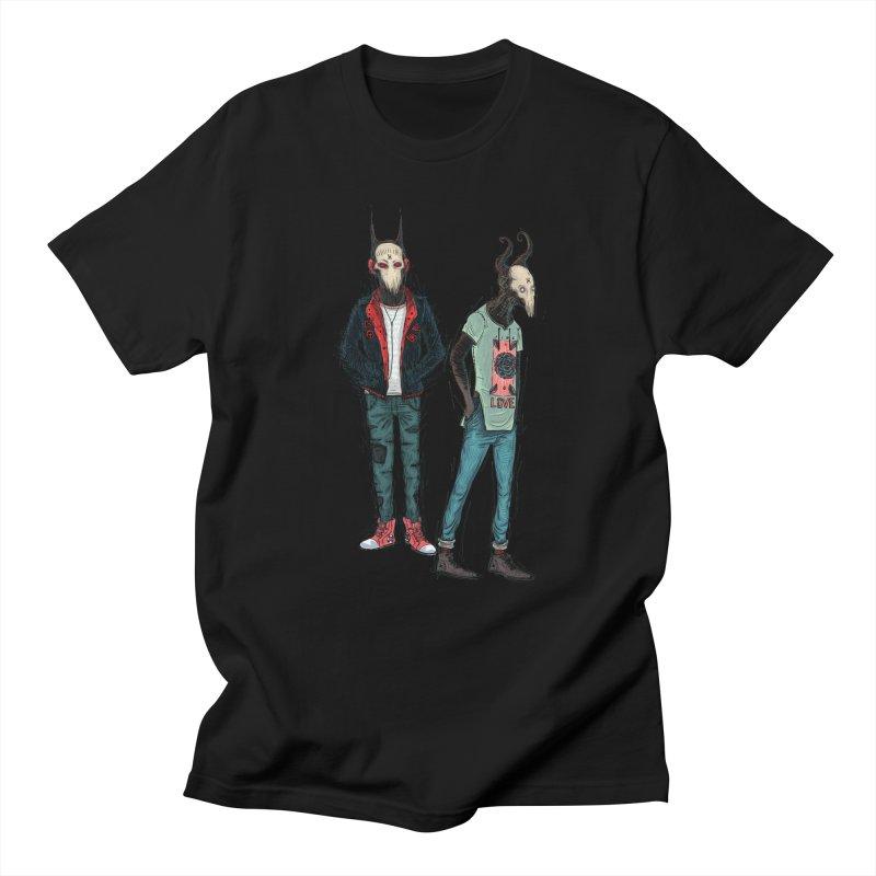 Devilfriends Women's Regular Unisex T-Shirt by creativosindueno's Artist Shop