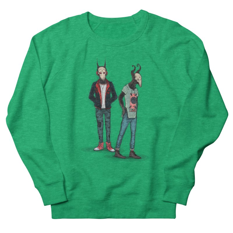 Devilfriends Men's French Terry Sweatshirt by creativosindueno's Artist Shop