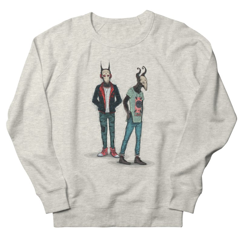 Devilfriends Men's French Terry Sweatshirt by creativosindueno's Artist Shop