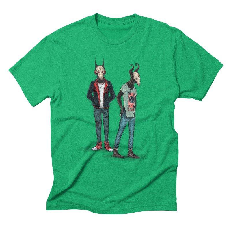 LosDiablos2 Men's Triblend T-Shirt by creativosindueno's Artist Shop