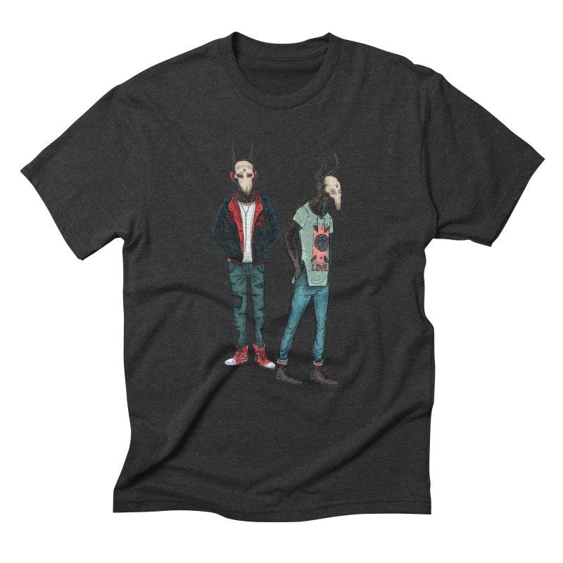 Devilfriends Men's Triblend T-Shirt by creativosindueno's Artist Shop