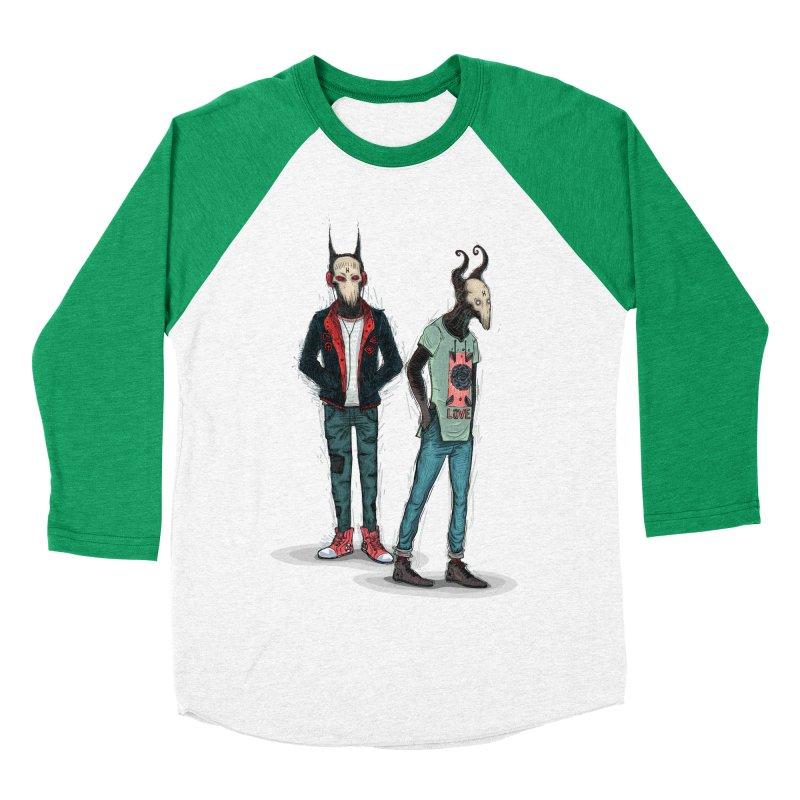 Devilfriends Women's Baseball Triblend Longsleeve T-Shirt by creativosindueno's Artist Shop