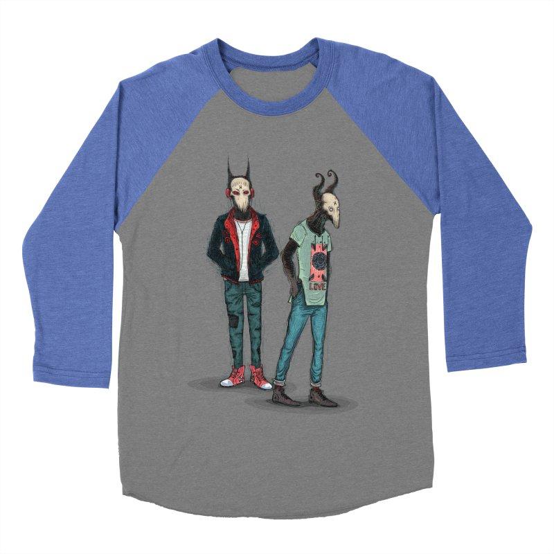 Devilfriends Men's Baseball Triblend Longsleeve T-Shirt by creativosindueno's Artist Shop