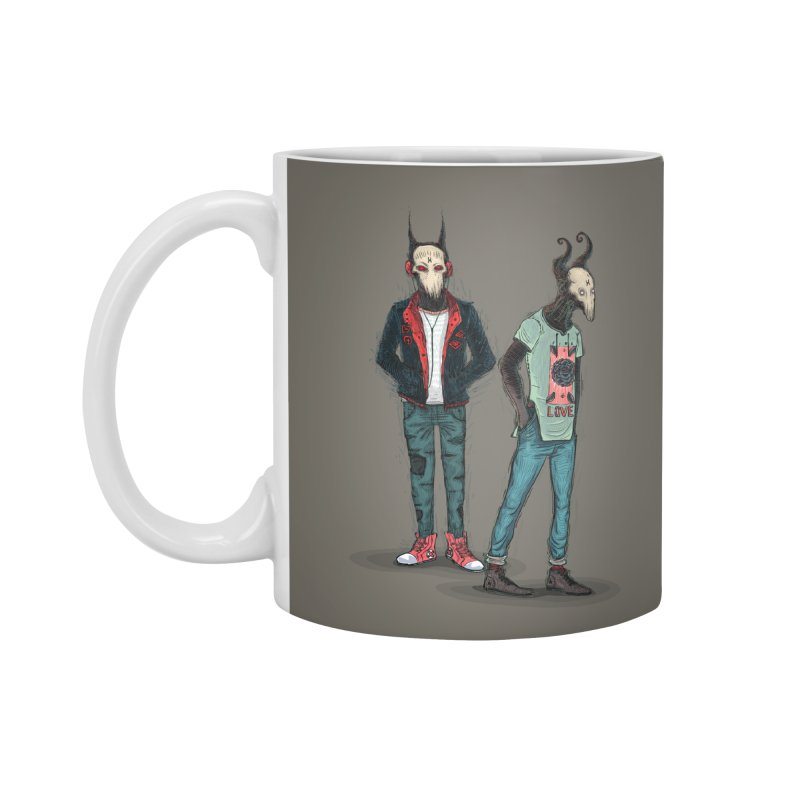 Devilfriends Accessories Standard Mug by creativosindueno's Artist Shop