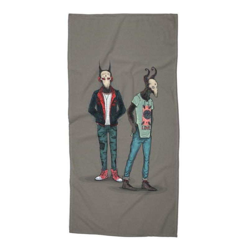 Devilfriends Accessories Beach Towel by creativosindueno's Artist Shop