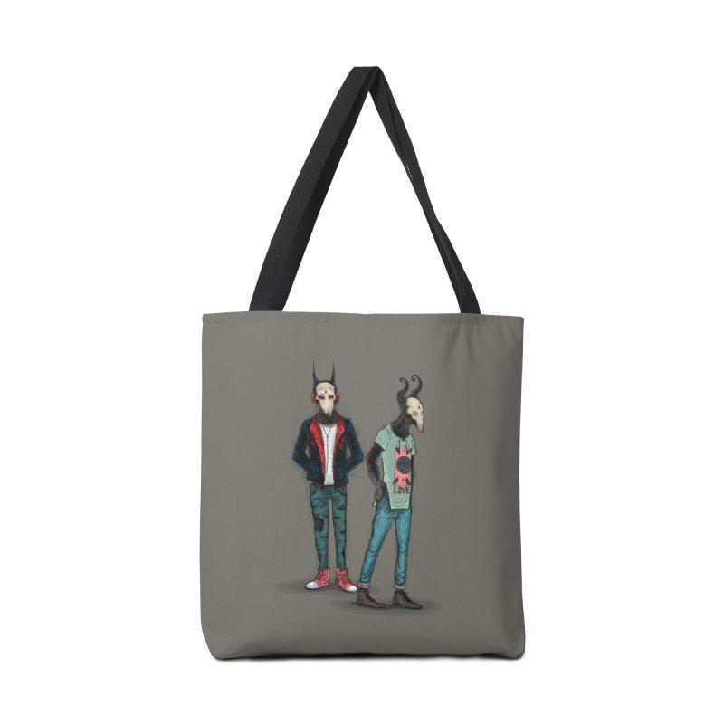LosDiablos2 Accessories Bag by creativosindueno's Artist Shop