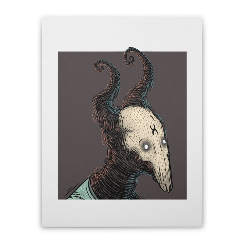 Devilyoung Home Stretched Canvas by creativosindueno's Artist Shop