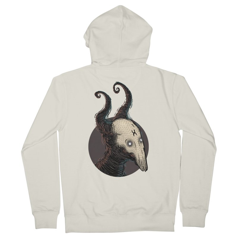 YoungDevilTShi Women's French Terry Zip-Up Hoody by creativosindueno's Artist Shop
