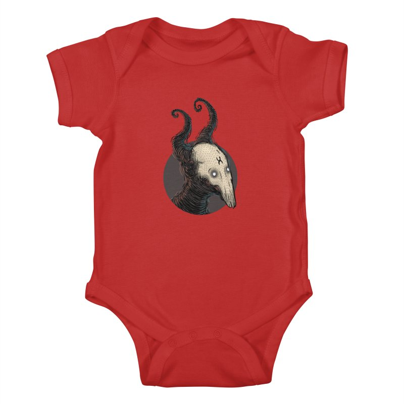 YoungDevilTShi Kids Baby Bodysuit by creativosindueno's Artist Shop